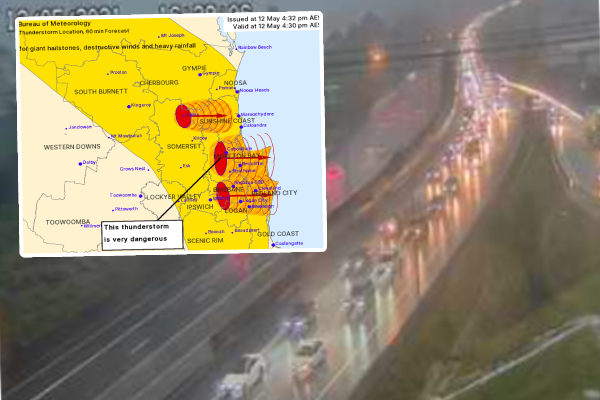 Article image for South East lashed by storms, wild weather