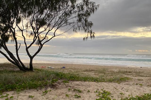 Tugun beach shot