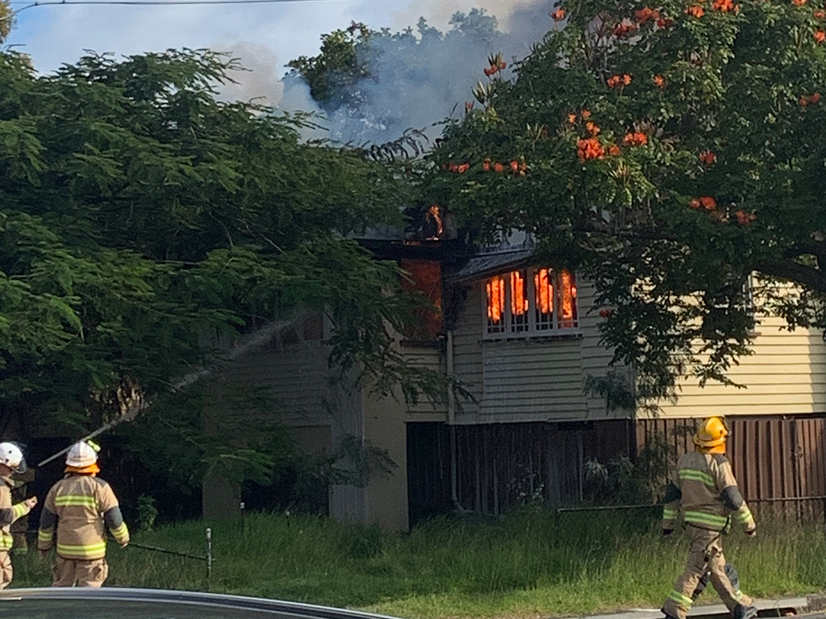 Hamilton house goes up in flames in suspected arson attack
