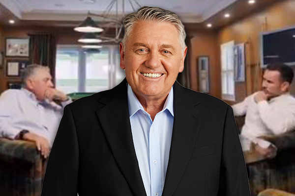 Article image for Ray Hadley addresses emotional Fox League interview