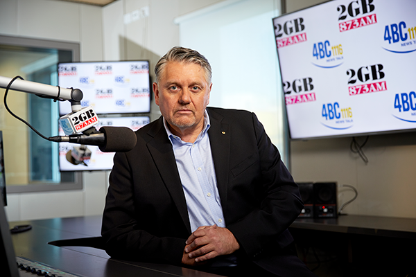 Ray Hadley makes solemn vow to help save children's lives
