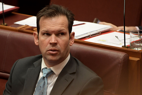 Article image for Coalition 'rogue' crosses floor in 'act of defiance' against government