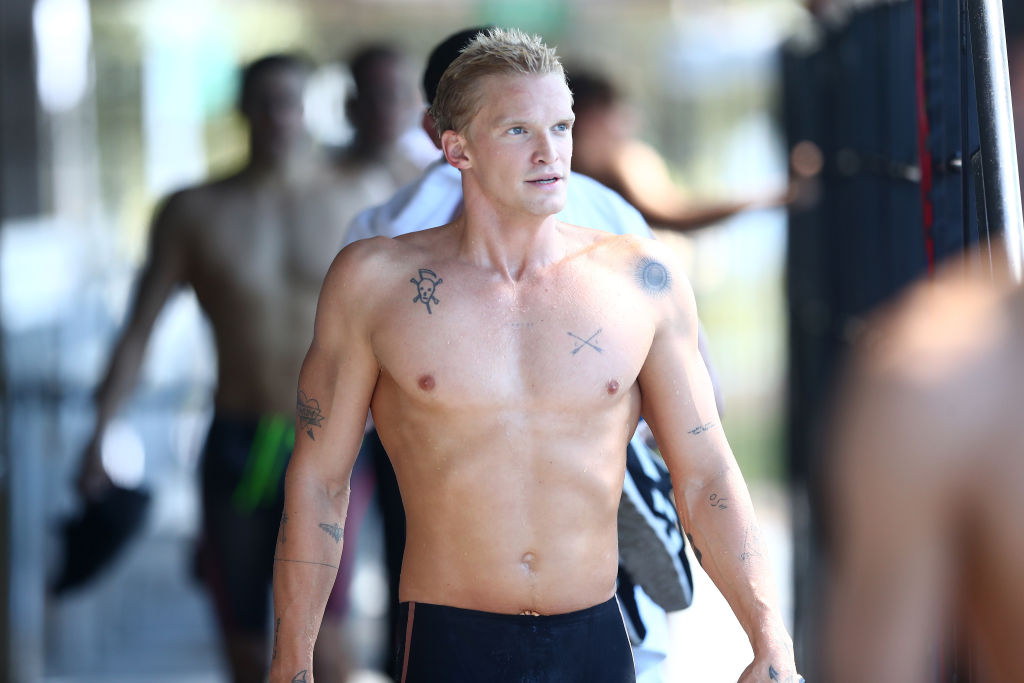 Article image for Grant Hackett's tip for Olympic future of popstar turned swimmer Cody Simpson