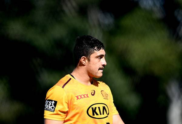 Article image for Kotoni Staggs grateful for NRL comeback after 9 months on the sidelines