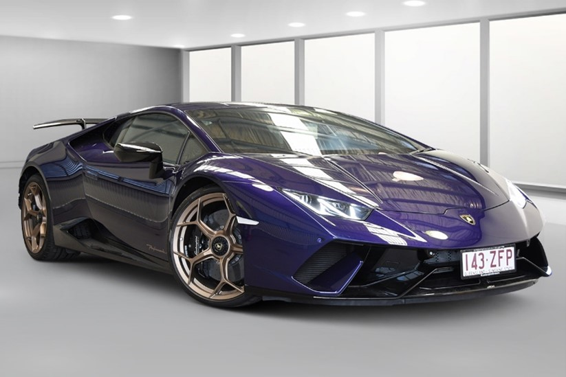 Article image for Police send serial hoon's custom Lamborghini to auction