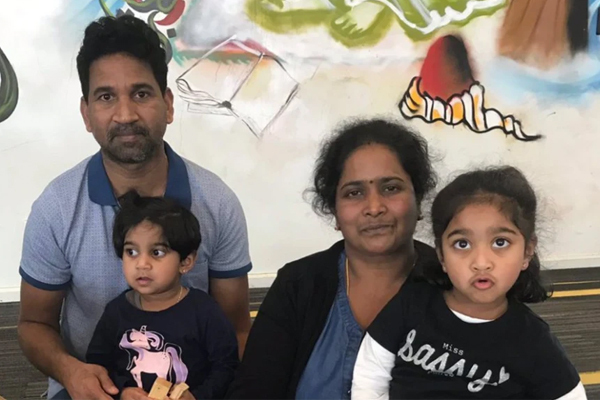 Article image for 'Still isn't finished': Biloela family to be temporarily re-located to Perth