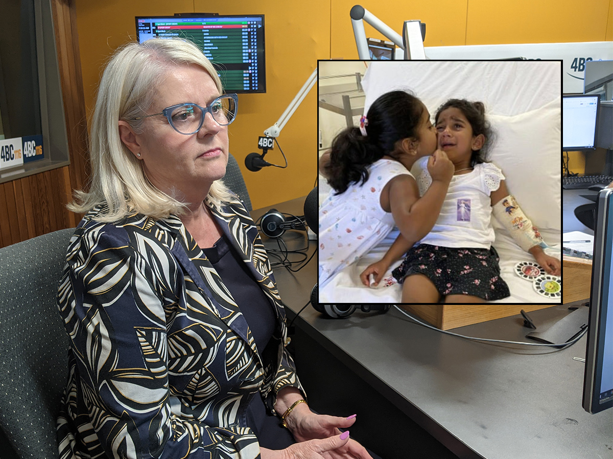 Home Affairs Minister reveals details reported on Biloela child's illness 'inaccurate'