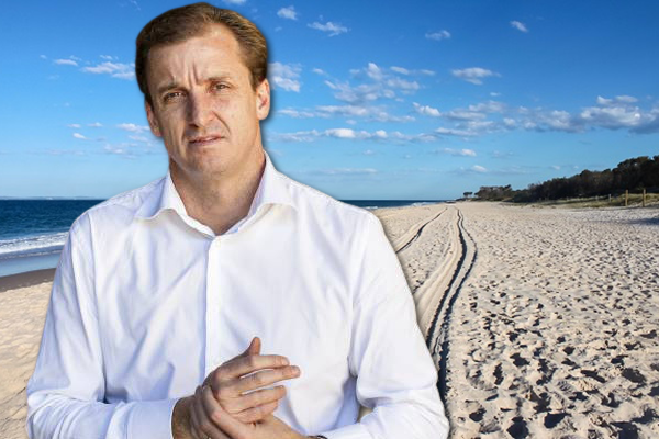 Article image for 'No way' P-platers should be driving on beaches, Neil Breen says