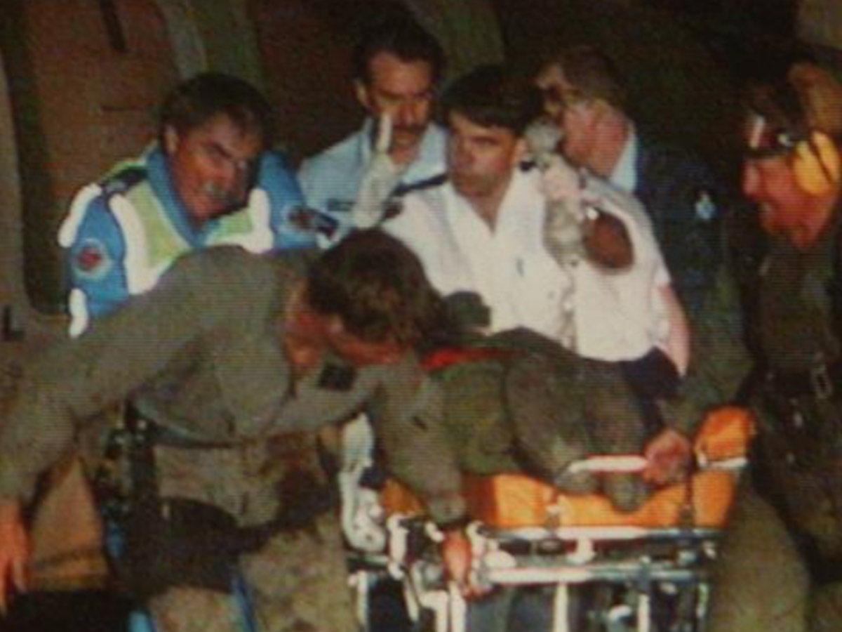 Article image for Pilot describes catastrophic six seconds in Black Hawk tragedy, 25 years on