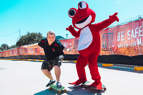 Red Frogs soldiers on despite major funding hit