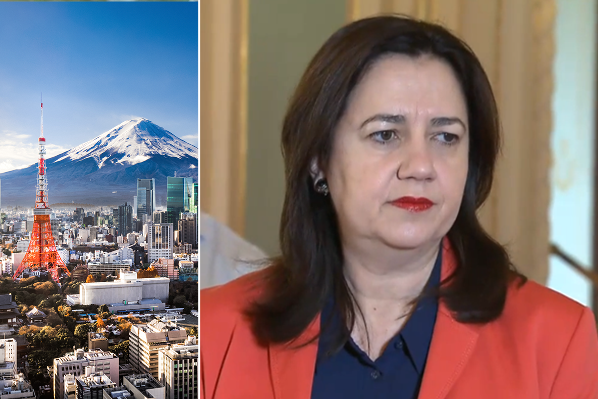 Premier told she must fly to Tokyo or risk Olympic bid 'disaster'