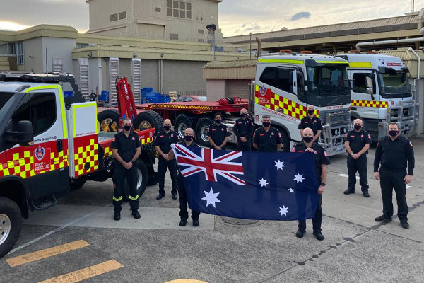 Article image for Aussie firefighters to replace fatigued Canadians in desperate hour of need