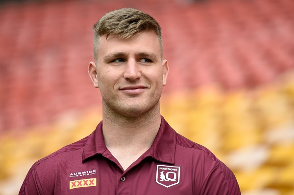 Article image for Maroons star fined $35,000 and suspended for Game III over COVID breach