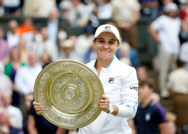 Article image for Ash Barty's childhood tennis coach and mentor reflects on incredible Wimbledon win
