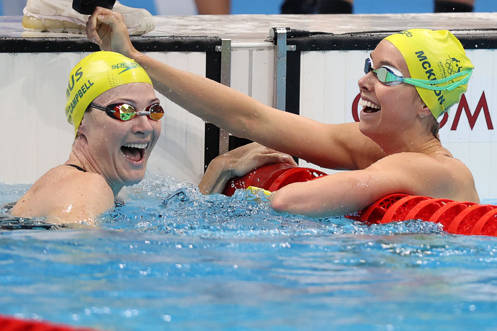 'Unbelievable' strength of Cate Campbell and Emma McKeon