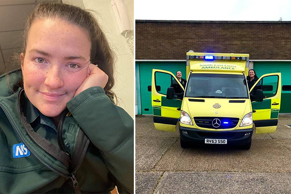 Article image for NHS paramedic's powerful plea from across the pond goes viral