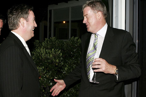 Article image for 'Giant of the TV industry': TV boss David Leckie passes away