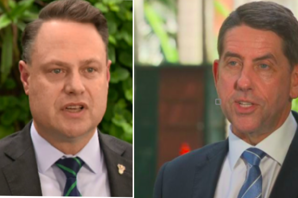 Political squabble treats Brisbane to preview of '11 years of fighting'