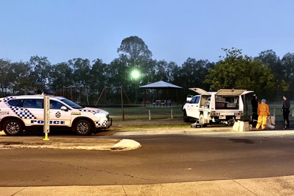 Man shot dead in 'wild brawl' west of Brisbane