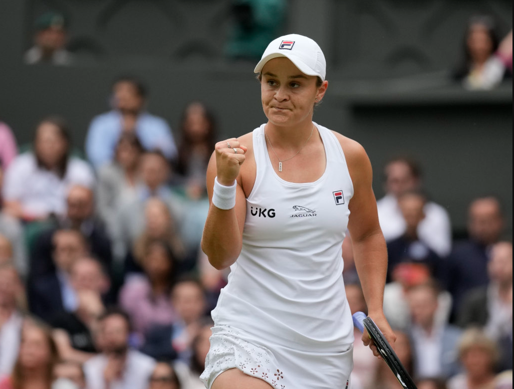 Article image for Ash Barty becomes Australia's first Wimbledon champion in four decades