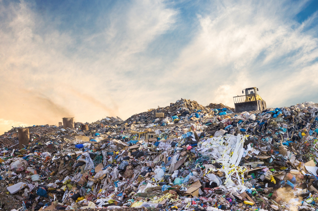 The challenge for the growing city carrying the load of the state's waste