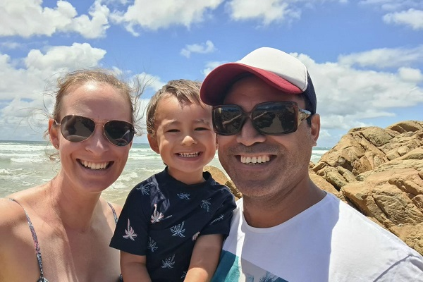 Family going through IVF details their emotional journey in home quarantine