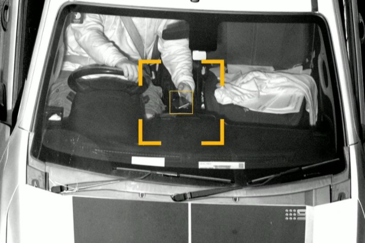 Article image for Hidden cameras bust thousands with phones behind the wheel