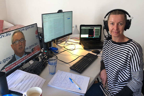 Article image for Deborah Knight back on the air after COVID alert