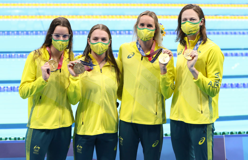 Article image for Tokyo 2020: 'Blend of the old and new' gives Australian swimming a golden glow
