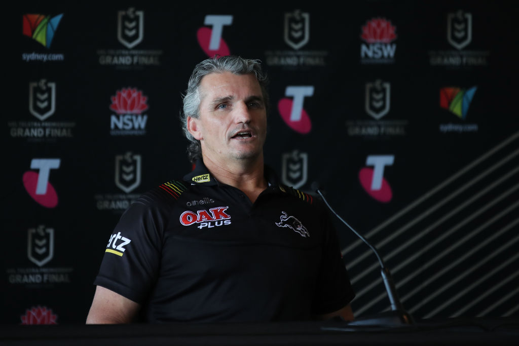 Panthers 'heading in the right direction' after injury run