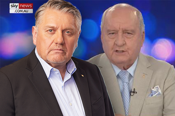 Article image for 'Sky News should be ashamed': Ray Hadley 'quite emotional' over Alan Jones' comments