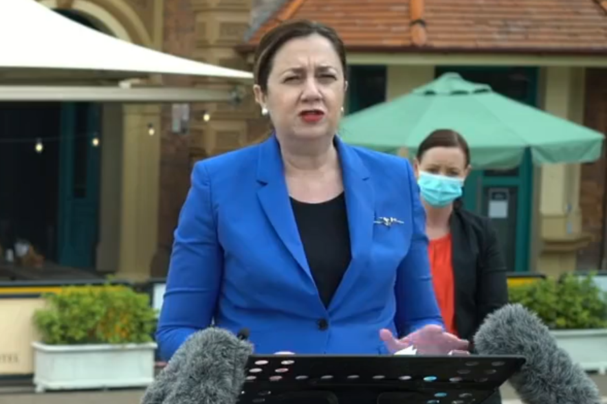 Annastacia Palaszczuk 'months late' to the party as Queensland vaccination tails the nation