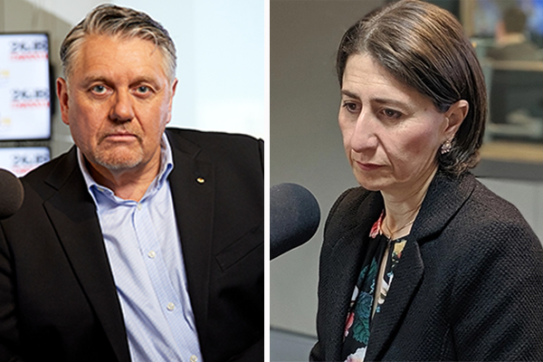 Article image for 'Go hard or go home!': Ray Hadley rips into NSW Premier