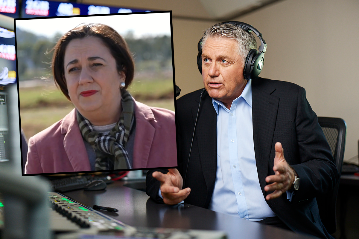 Article image for Ray Hadley: 'There's one problem' with state government going it alone