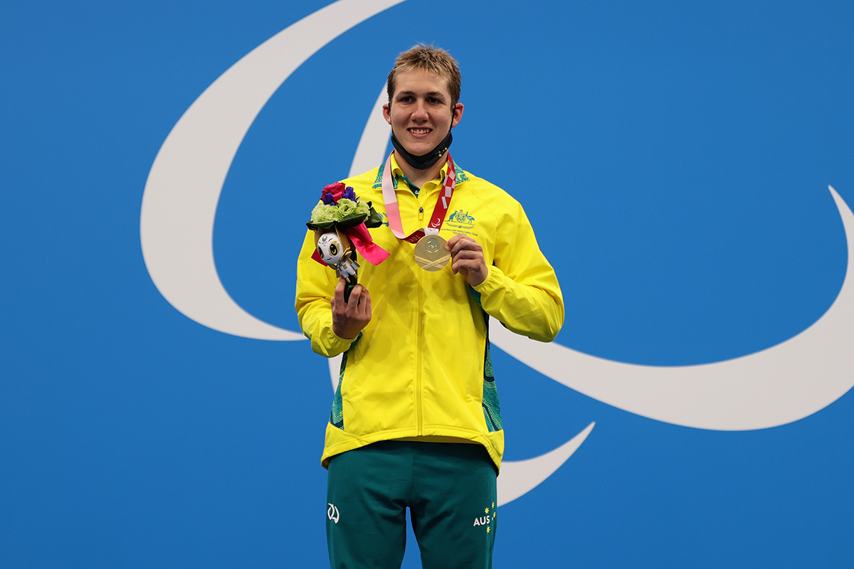 Article image for 'He's a sensational lad': Uncle of Paralympian reacts to record-breaking swim