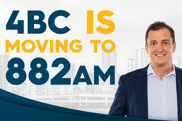 Article image for 4BC moving to new home on 882AM