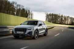 Audi Q2 SUV – refreshed with a new front drive 1.5-litre 35 TFSI variant.