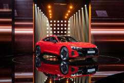 Audi accelerating transformation to a full electric future.