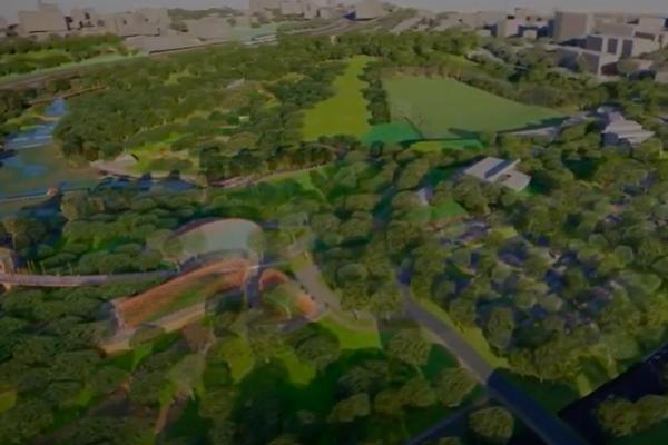 Article image for Major public parkland re-development well underway in Brisbane