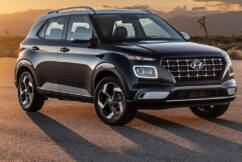 Hyundai's Venue SUV – its most affordable model.