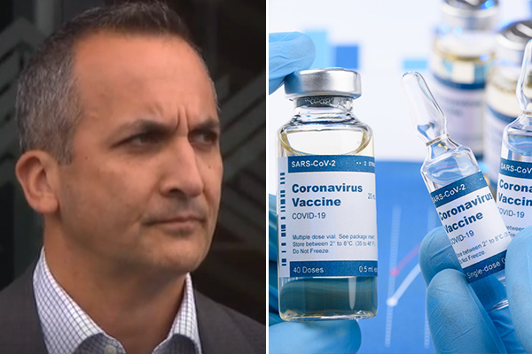 Article image for NRL CEO Andrew Abdo rules out vaccine mandate for players
