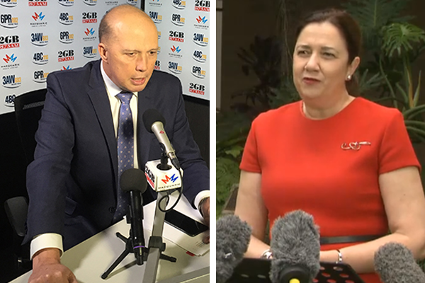 Article image for Peter Dutton accuses QLD Premier of putting NRL before COVID outbreak