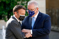 'It's not you, it's me': Is it time for couples therapy for Morrison and Macron?
