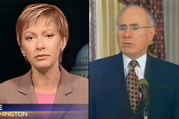 Article image for 'Lethal, horrifying': The moment time stopped for John Howard and Deborah Knight