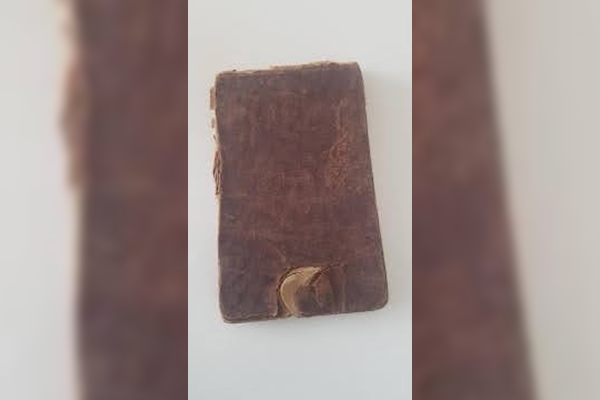 Article image for The notebook that saved Breenie's great-grandfather