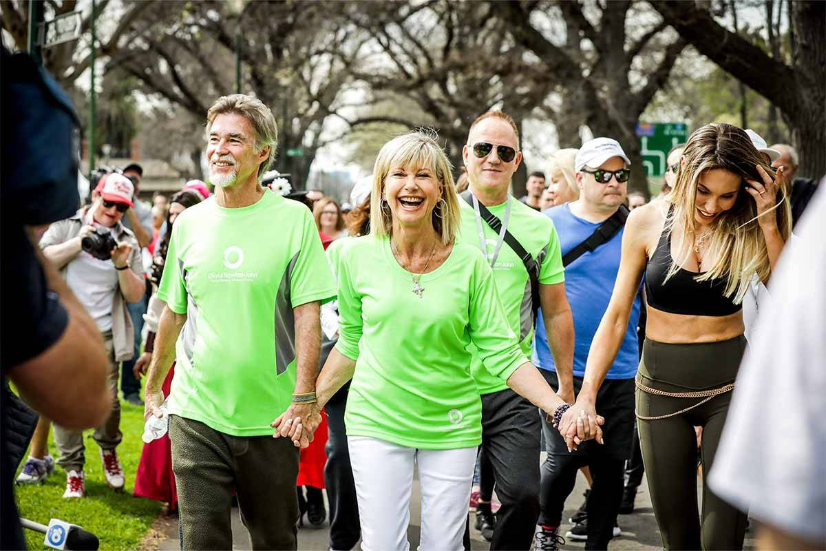 Article image for Why Aussies are hitting the pavement for Olivia Newton-John's birthday