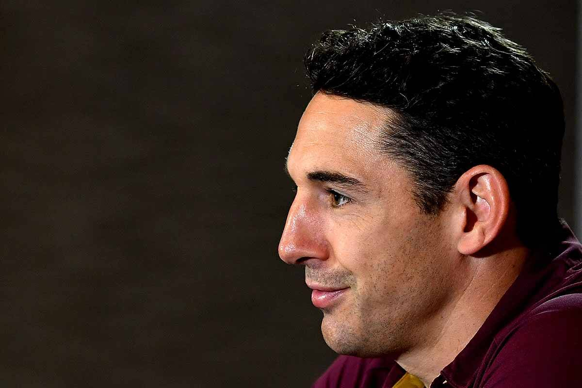 Article image for Billy Slater named coach to help Maroons 'inspire our state'