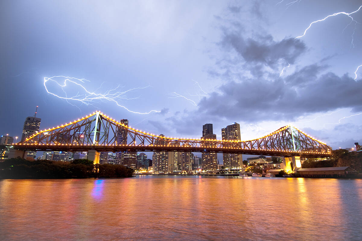 Article image for Storm chaser predicts sunshine tomorrow could bring severe weather