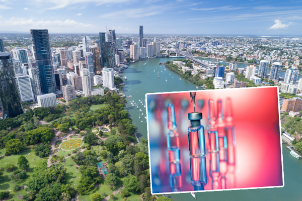 Article image for The race to re-open Queensland's border hinges on high vaccination rates