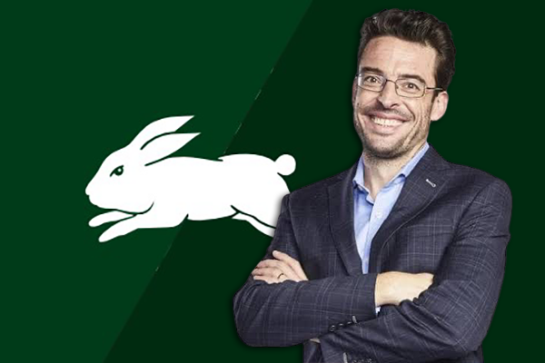 Article image for Joe Hildebrand reveals the bizarre reason why he's a Rabbitohs fanatic